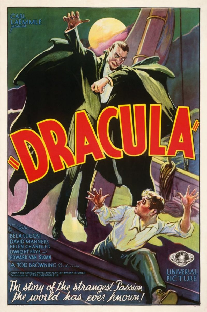 DRACULA 1931 POSTER IT'S ALIVE
