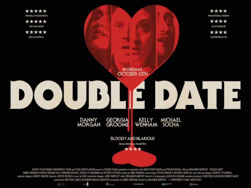 "Poster for Horror-Comedy Film ""Double Date"""