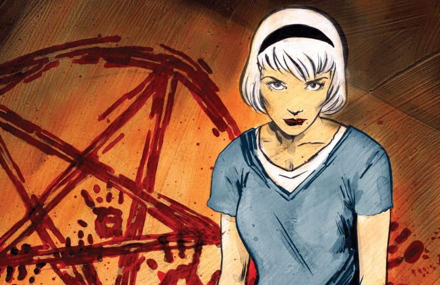 First Look at Concept Art for CHILLING ADVENTURES OF SABRINA Adaptation