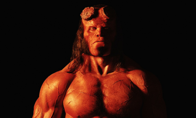 FIRST LOOK: David Harbour as HELLBOY