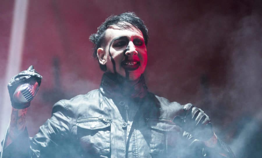 Marilyn Manson Injured By Falling Stage Prop (UPDATED)