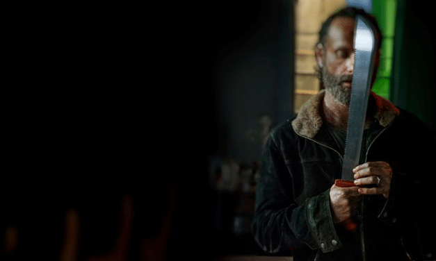 The Walking Dead RED MACHETE Sheds Light On Origins of the Iconic Weapon