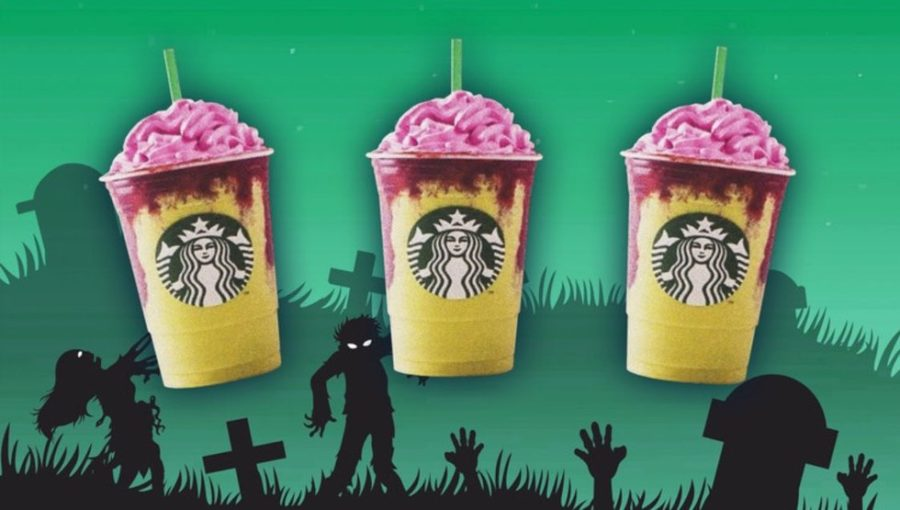 Starbucks ZOMBIE Frappuccinos Rising This Week