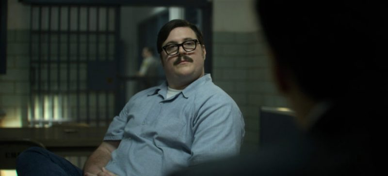Cameron Britton as Ed Kemper in Mindhunter