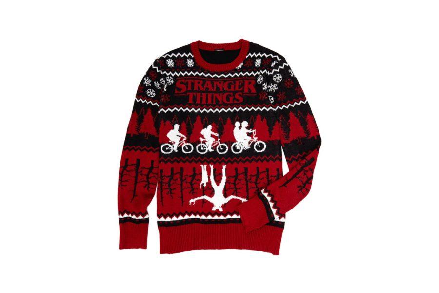 Stranger Things Christmas Sweater.Get Strange With The Stranger Things Official Merchandise