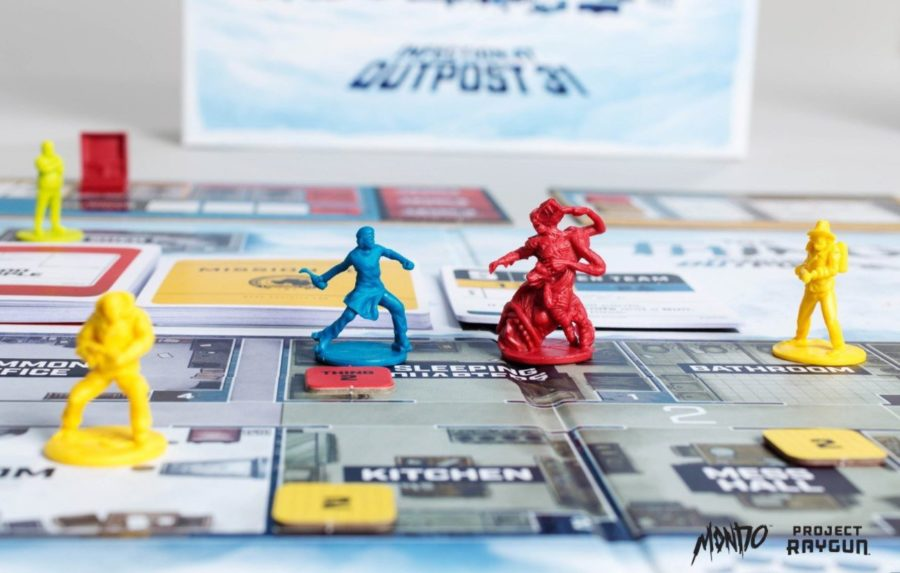 INFECTION AT OUTPOST 31: New Board Game Based on THE THING
