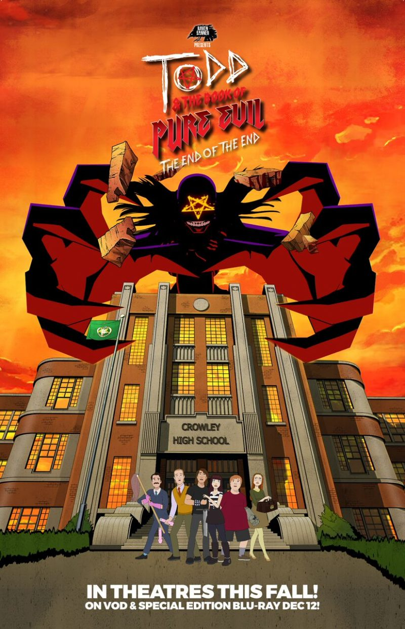 tod and the book of pure evil the end of the end poster