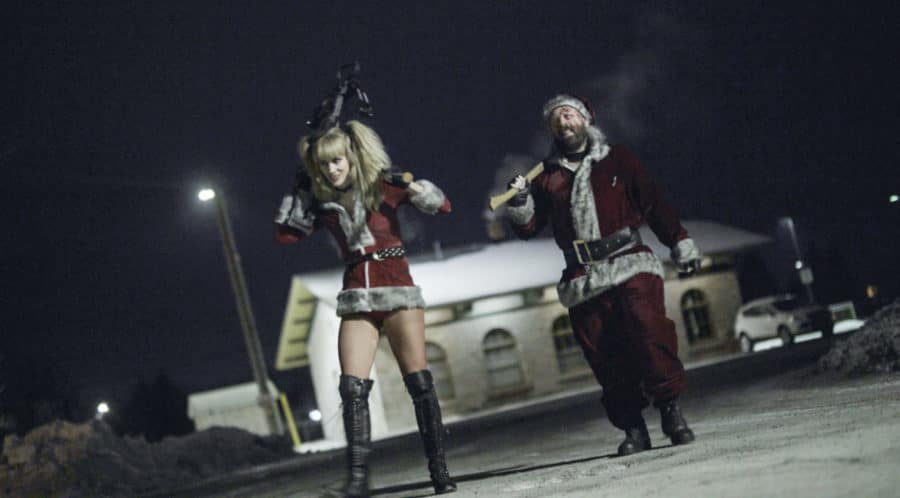 Santa Slays in ONCE UPON A TIME AT CHRISTMAS Trailer