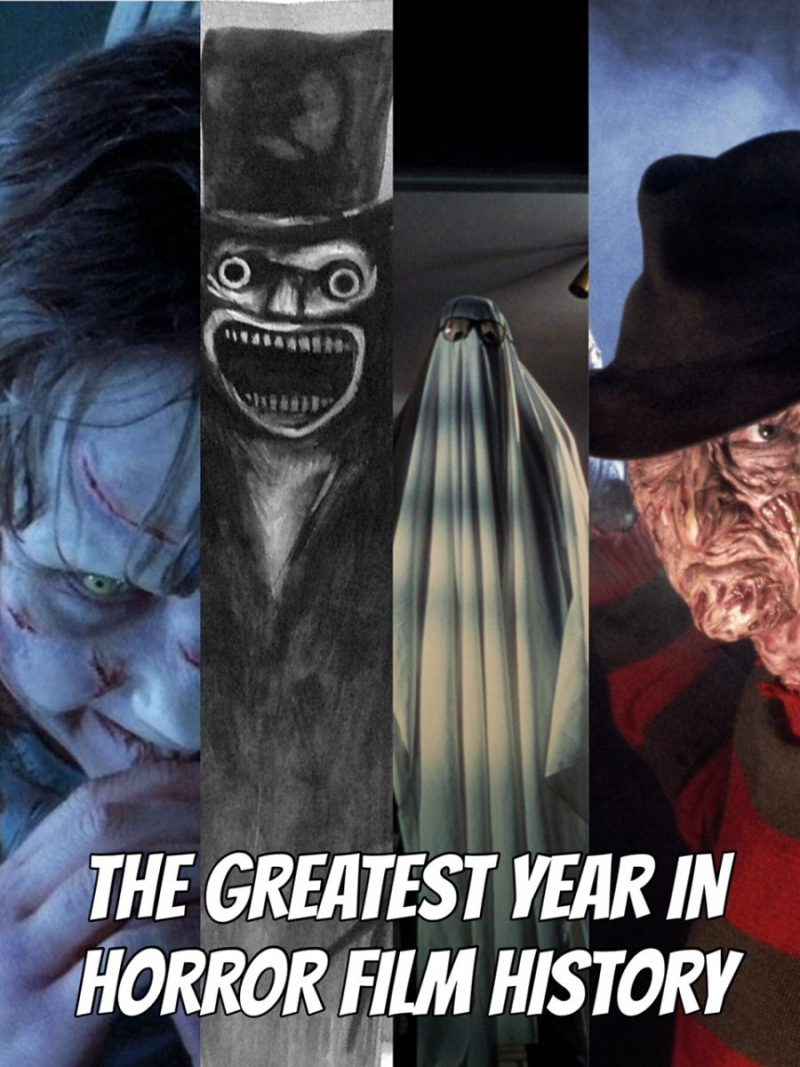 The Greatest Year in Horror History