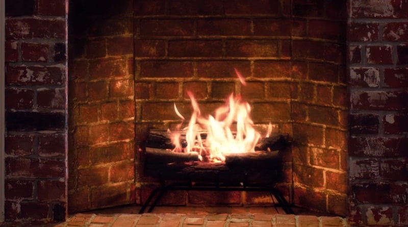This Year, the Traditional Yule Log Turns into a Full-On Horror Film!