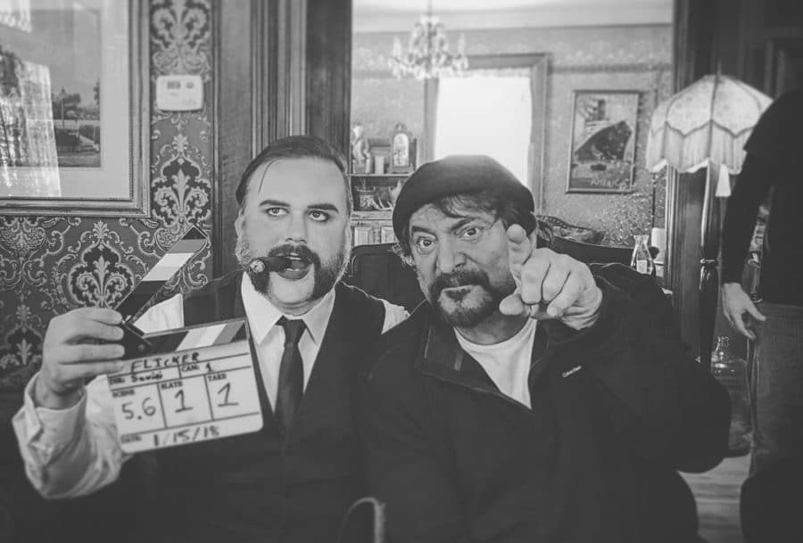 [First Look] Tom Savini Directs in New Web Series, Currently Shooting!