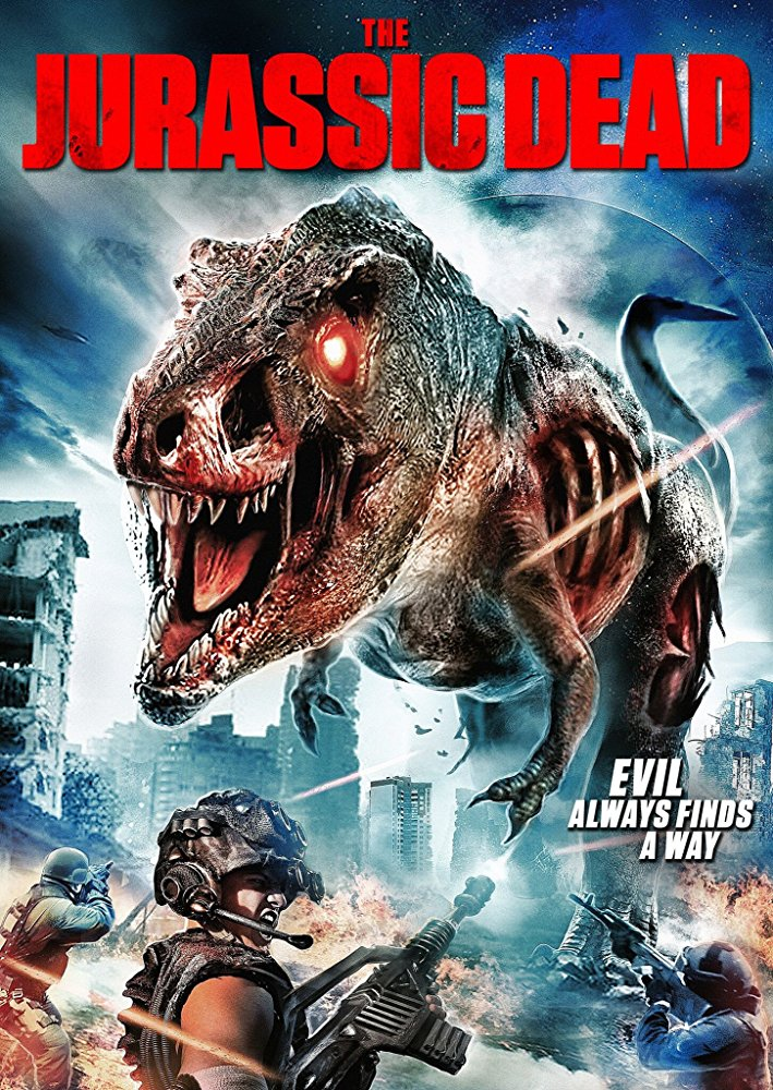jurassic dead zombie dinosaur horror movie