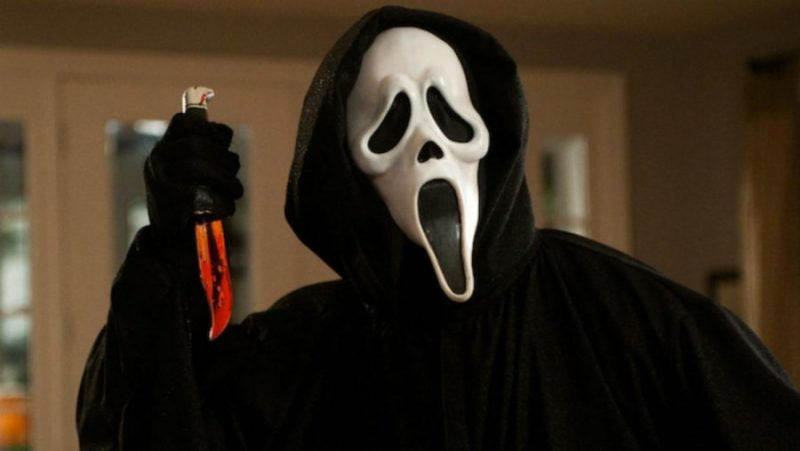 scream ghost face written by kevin williamson