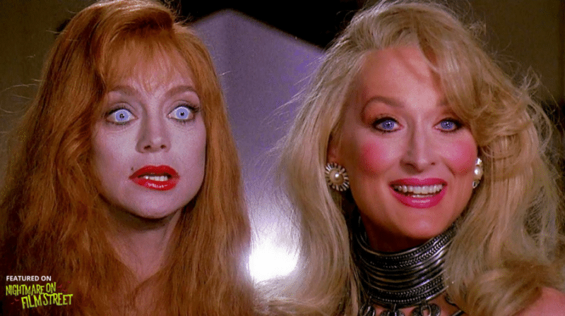 new episode of nightmare on film street horror podcast death becomes her re-animator HORROR MOVIE PODCAST