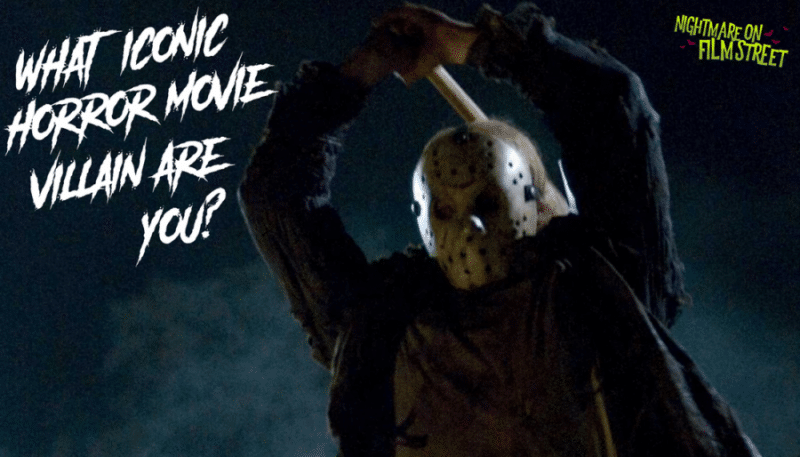 which iconic horror movie villain are you (1)