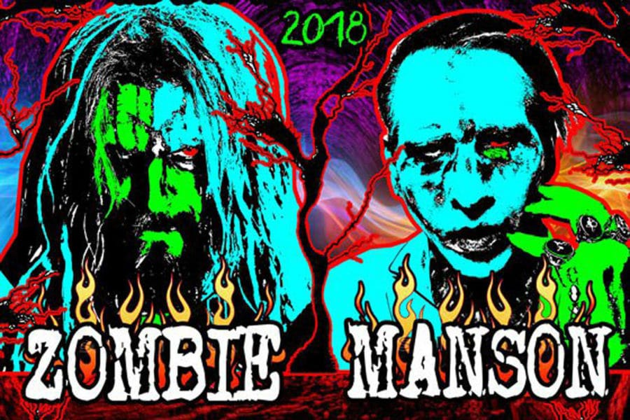 Rob Zombie and Marilyn Manson Announce New Co-Headlining Tour