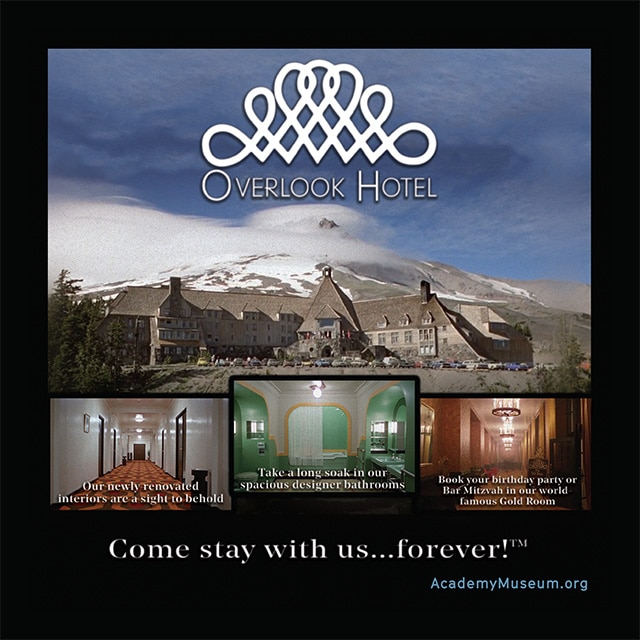 the overlook hotel oscars commercial