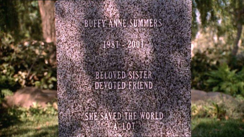 buffy tombstone