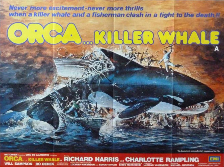 orca 1977 poster