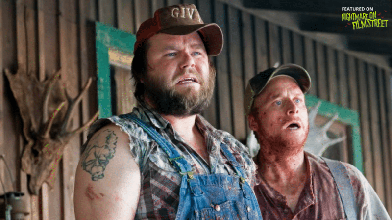 new episode of nightmare on film street horror podcast cabin in the woods tucker and dale vs evil
