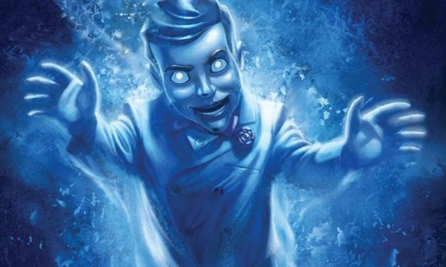 Slappy Haunts New Goosebumps Cover Art