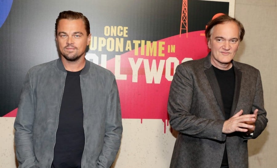 First Look At Leonardo DiCaprio And Brad Pitt In Quentin Tarantino's ONCE UPON A TIME IN HOLLYWOOD