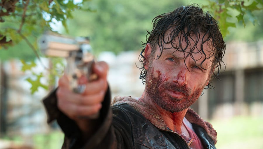 THE WALKING DEAD Loses Lead; Andrew Lincoln Leaving the Series