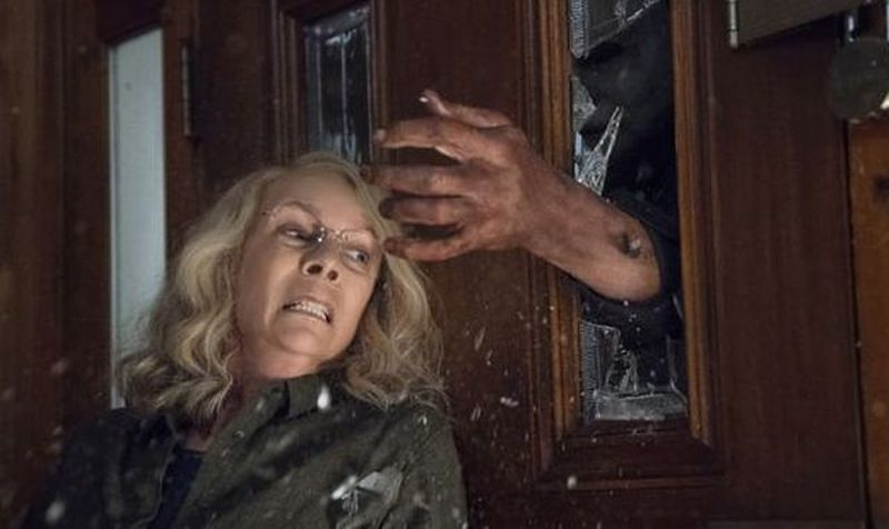 [First Look] First Images of Michael Myers and Laurie Strode (Jamie Lee Curtis) in HALLOWEEN