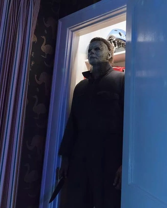 halloween movie first images 2018