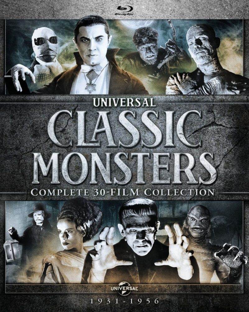 universal monsters 30 collection blu ray