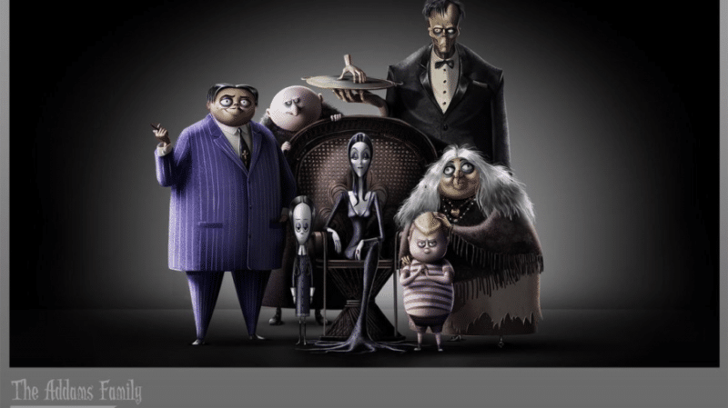 addams family 2019 animated movie