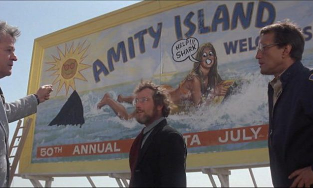 Watch JAWS The Way It Was Intended: On A Floatie in a Giant Pool