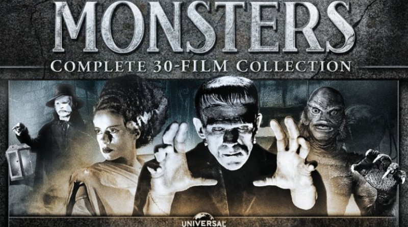 UNIVERSAL MONSTERS 30 Film Collection Coming to Blu-ray