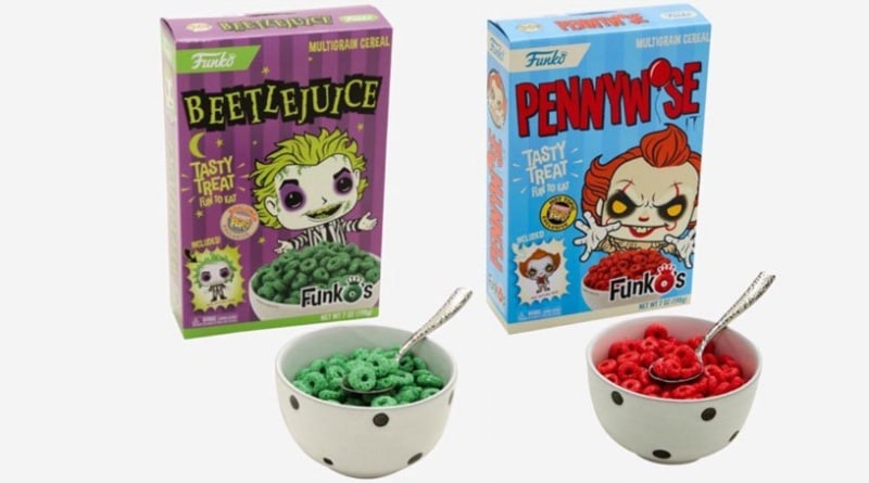 Beetlejuice and Pennywise are Headed to a Breakfast Near You in New Funko Cereal!