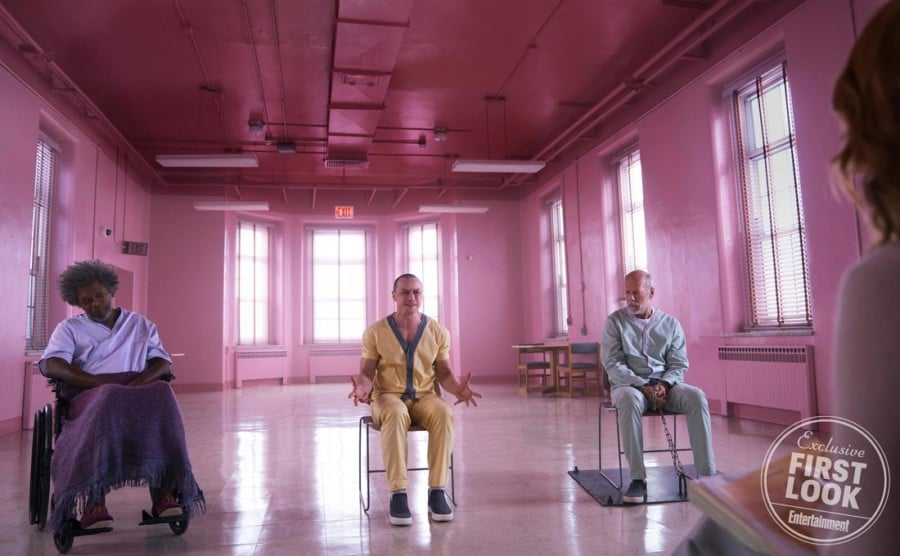 Samuel L. Jackson Makes Purple Reign in First Images from GLASS