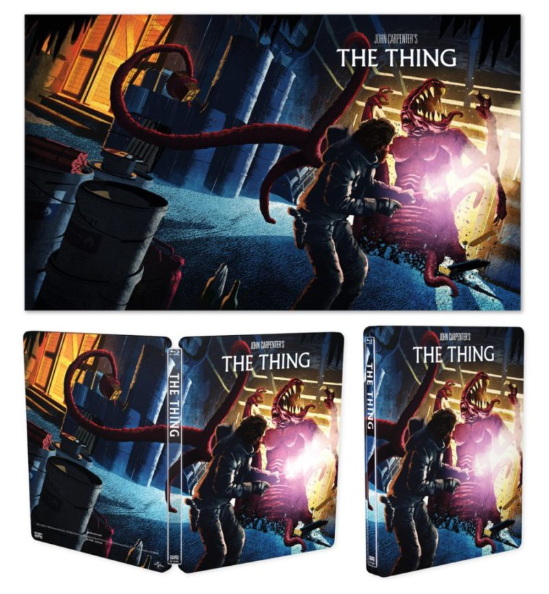 John Carpenter's THE THING Gets A Limited Edition Scream Factory Steelbook