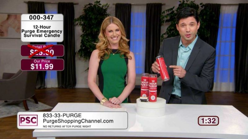 purge shopping channel