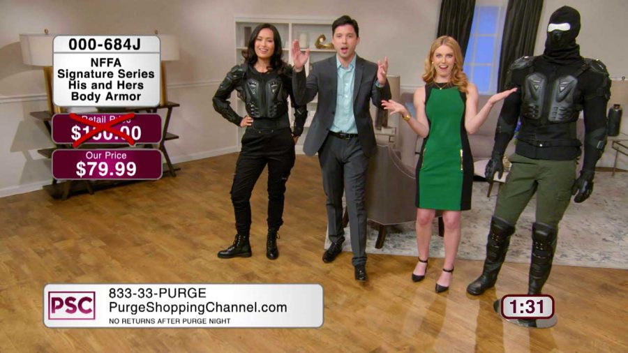 USA Network Brings Homicide Home with The Purge Shopping Channel