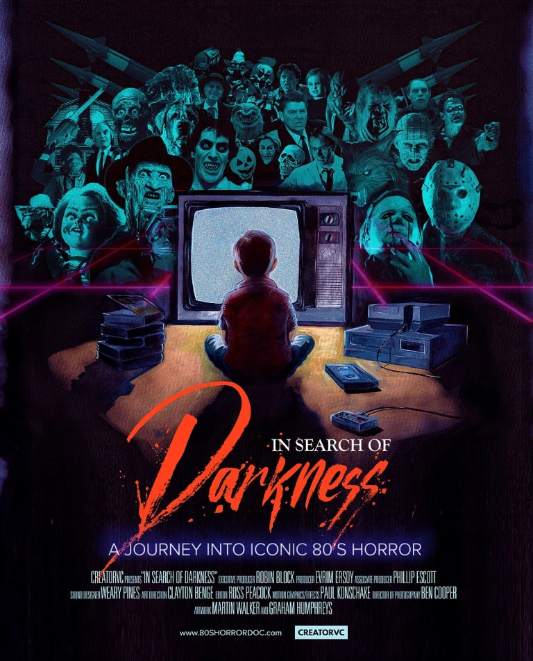 Drown in 80s Horror Nostalgia with the New IN SEARCH OF DARKNESS Trailer