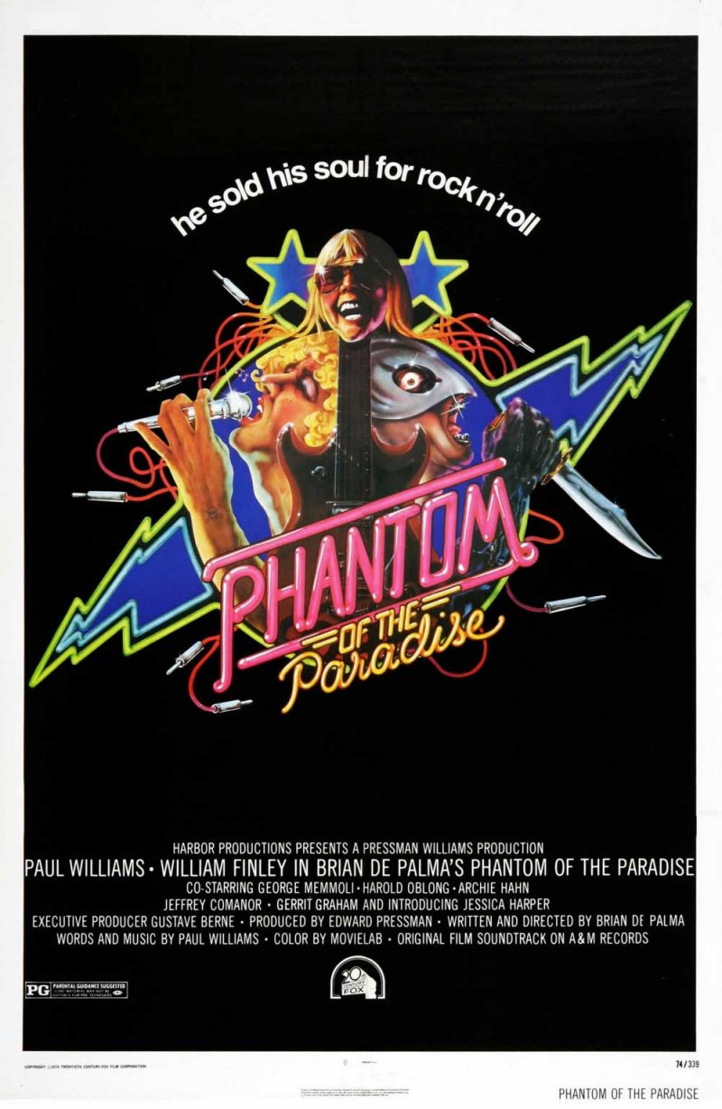 phantom of the paradise brian de palma 1974