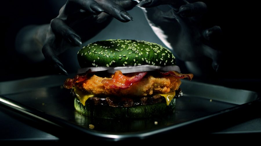 Burger King's 'Nightmare King' Burger Actually Causes Nightmares?
