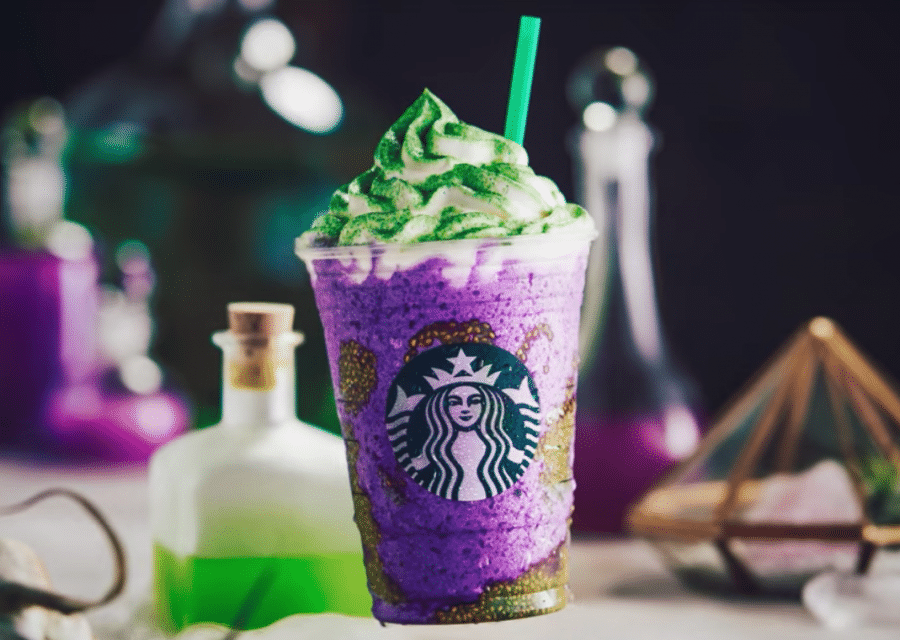 Starbucks Conjures Up A New Halloween Treat: The Witch's Brew Frappucino!