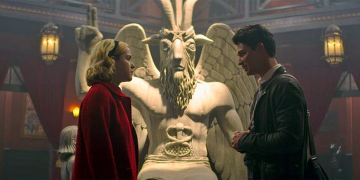 The Satanic Temple Does Not Netflix and Chill with SABRINA