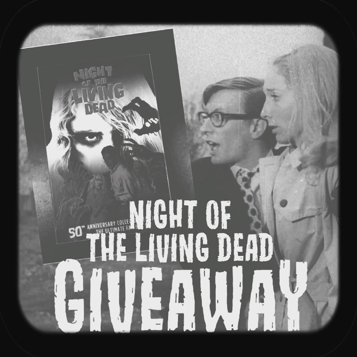 night of the living dead giveaway