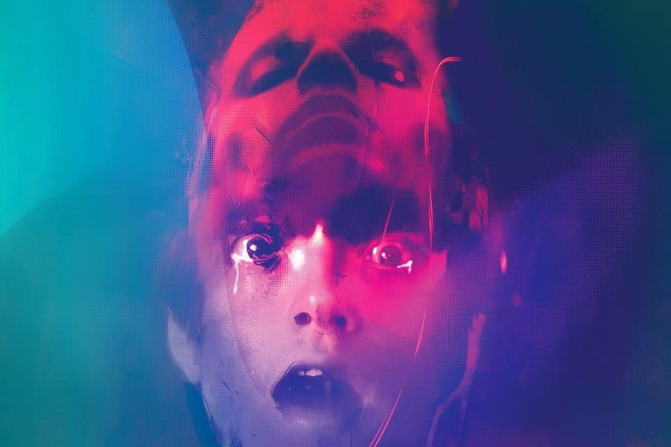 New DANIEL ISN'T REAL Poster Reveals a Neon Nightmare