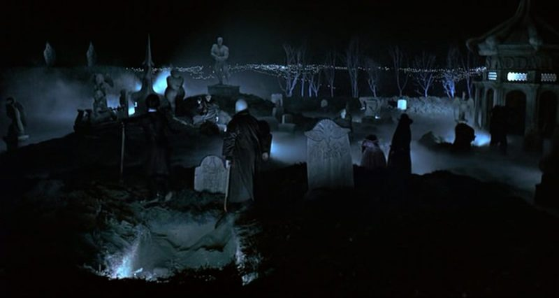 the addams family cemetery 1991