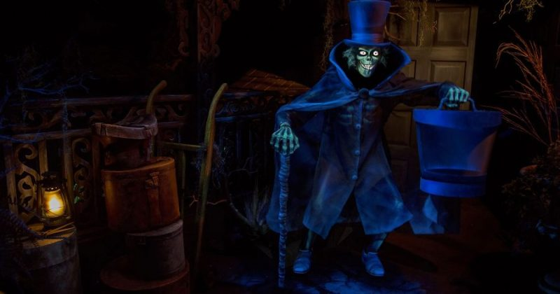 The Hatbox Ghost - The Haunted Mansion