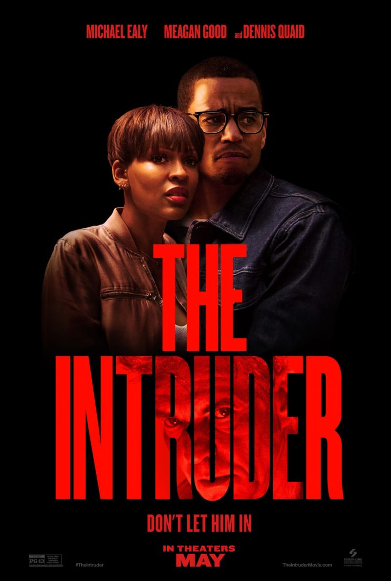 the intruder poster