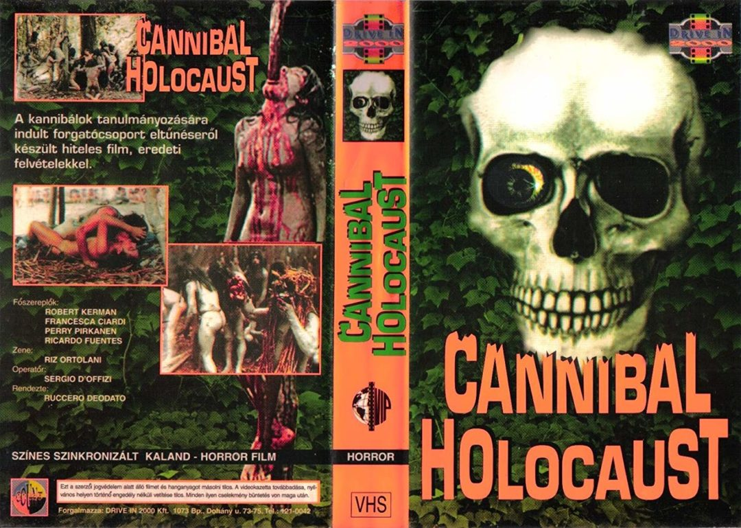 cannibal holocaust vhs cover