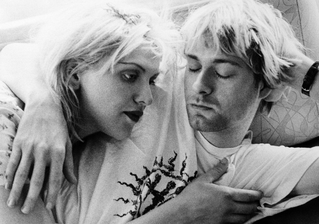 Courtney Love Claims She Was Visited by The Ghost of Kurt Cobain